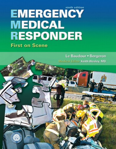 Emergency Medical Responder: First on Scene 9780135125700