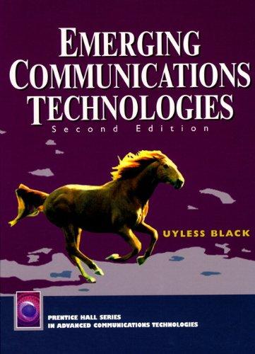 Emerging Communications Technologies 9780137428342