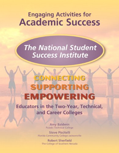 Engaging Activities for Academic Success: Connecting, Supporting, and Empowering 9780137050284