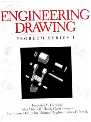 Engineering Drawing: Problem Series 1 9780136585367