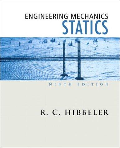 Engineering Mechanics: Statics 9780130200051