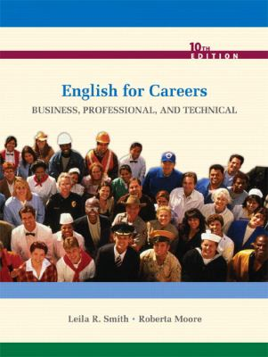 English for Careers: Business, Professional, and Technical 9780135023310