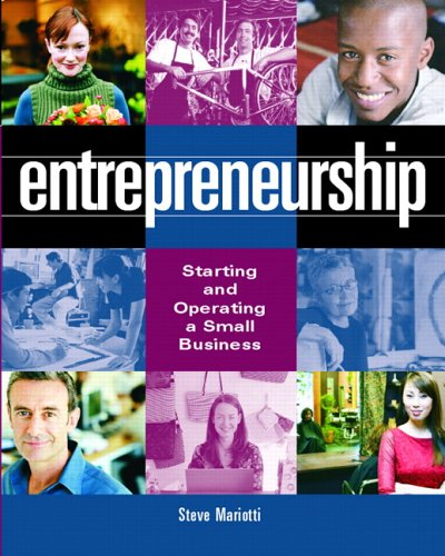 Entrepreneurship: Starting and Operating a Small Business 9780131197671