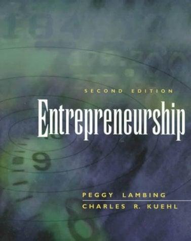 Entrepreneurship [With Disk]