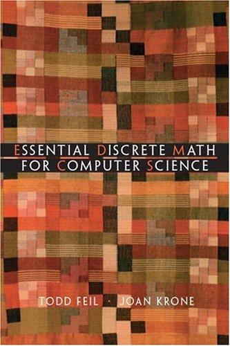 Essential Discrete Mathematics 9780130186614
