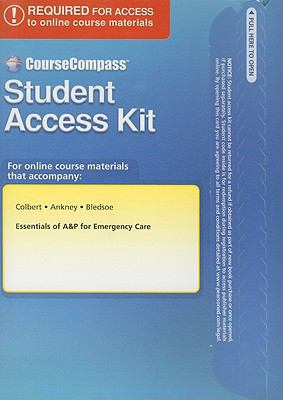 Essentials of A&P for Emergency Care Student Access Kit 9780132317344