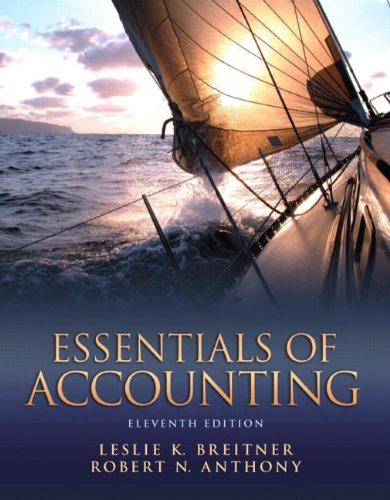 Essentials of Accounting 9780132744379