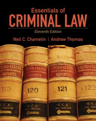 Essentials of Criminal Law 9780135110577