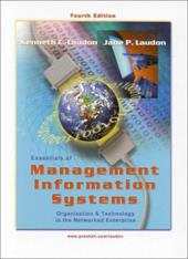 Essentials of Management Information Systems -  Laudon, Jane P., Hardcover