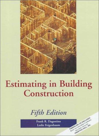 Estimating in Building Construction 9780133779387