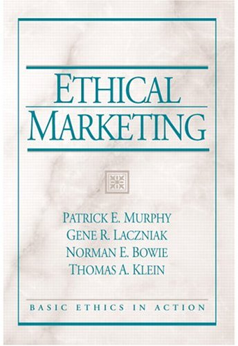 Ethical Marketing 9780131848146