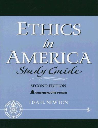 Ethics in America 9780131826267