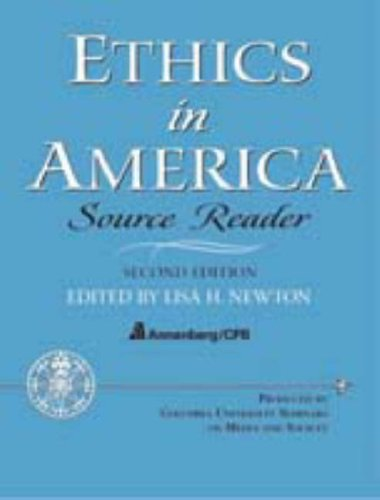 Ethics in America - Source Reader 9780131826250