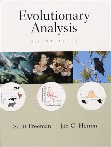 Evolutionary Analysis 9780130172914