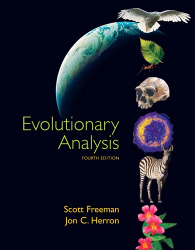 Evolutionary Analysis - 4th Edition