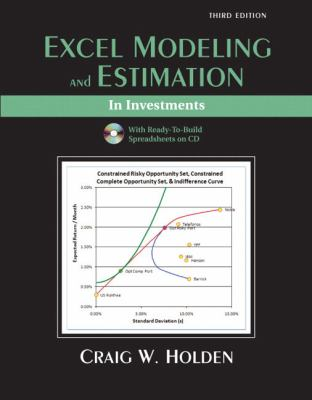 Excel Modeling and Estimation in Investments [With CDROM] 9780132079907