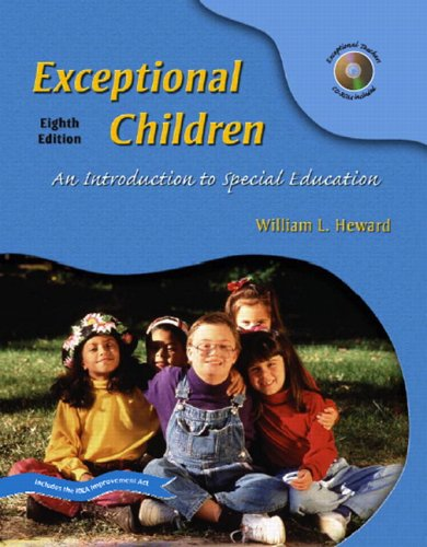 Exceptional Children: An Introduction to Special Education [With CDROM] 9780131191709