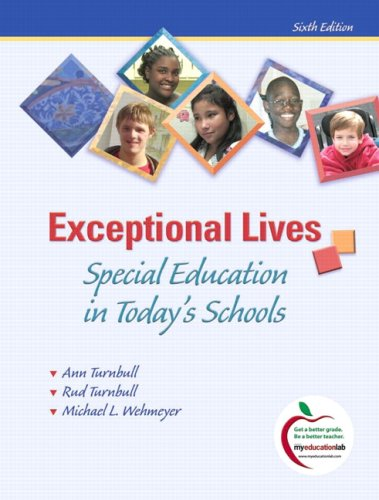Exceptional Lives: Special Education in Today's Schools 9780135026960