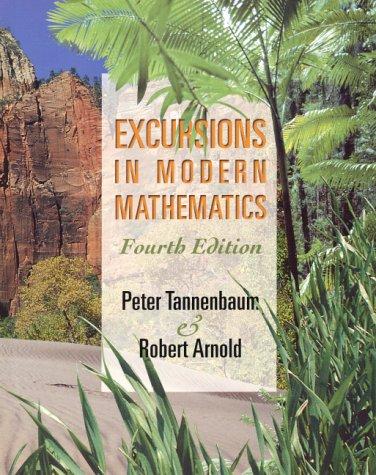 Excursions in Modern Mathematics 9780130177629