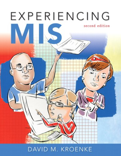 Experiencing MIS 9780136078685