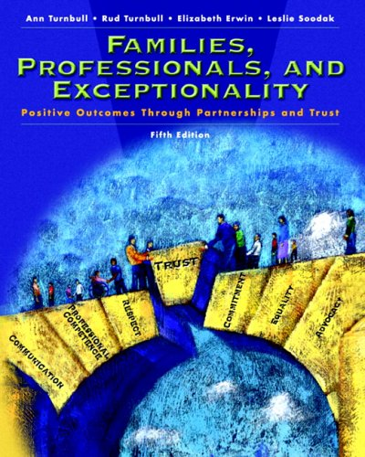 Families, Professionals and Exceptionality