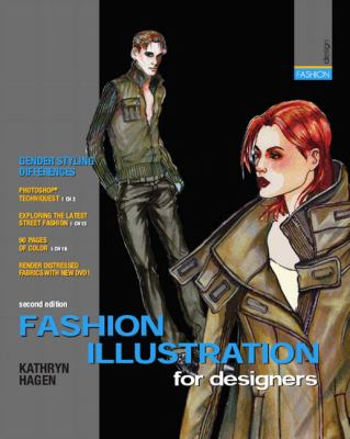 Fashion Illustration for Designers [With 2 DVDs] 9780135015575