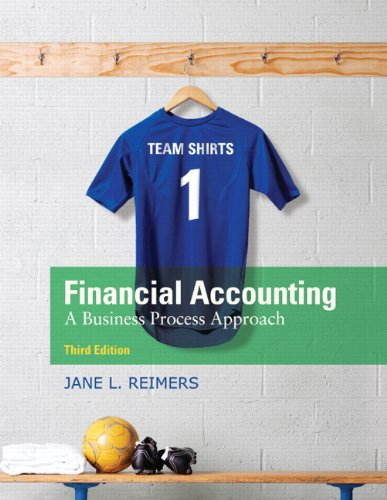 Financial Accounting: A Business Process Approach 9780136115274