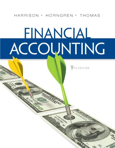 Financial Accounting 9780132751124