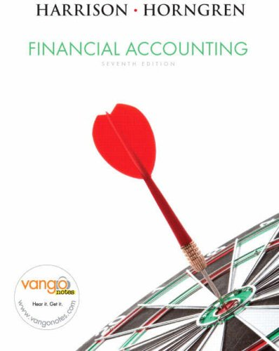 Financial Accounting 9780136129349