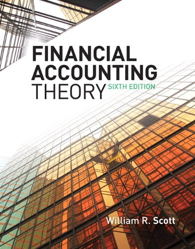 Financial Accounting Theory 9780135119150