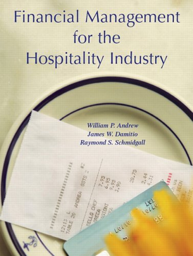Financial Management for the Hospitality Industry 9780131179097