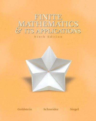 Finite Mathematics and Its Application 9780131873643