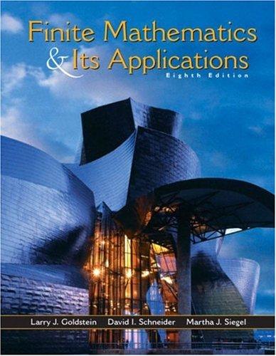 Finite Mathematics and Its Applications 9780130466204