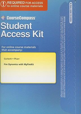 Fire Dynamics with MyFireKit Student Access Kit 9780135076422