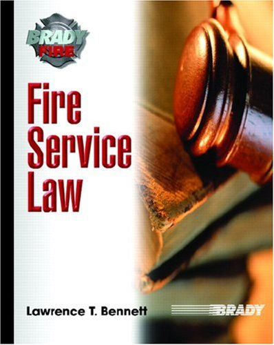 Fire Service Law 9780131552883