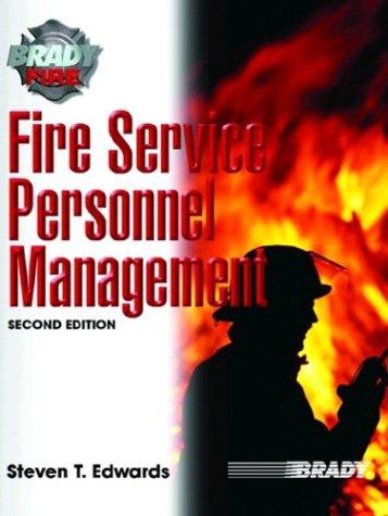 Fire Service Personnel Management 9780131177666