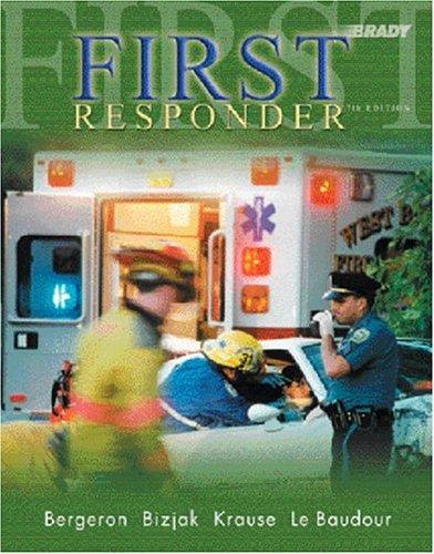 First Responder 9780131089907