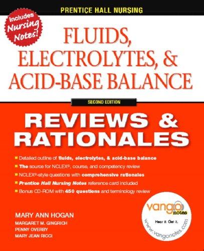 Fluids, Electrolytes, and Acid-Base Balance 9780132240796