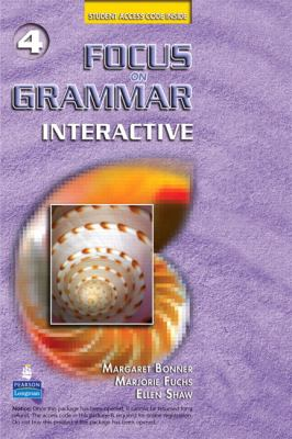 Focus on Grammar Interactive 4, Online Version (Access Code Card) 9780138145781