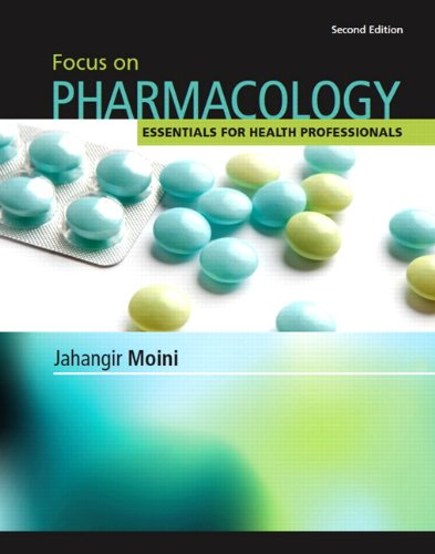 Focus on Pharmacology 9780132499668