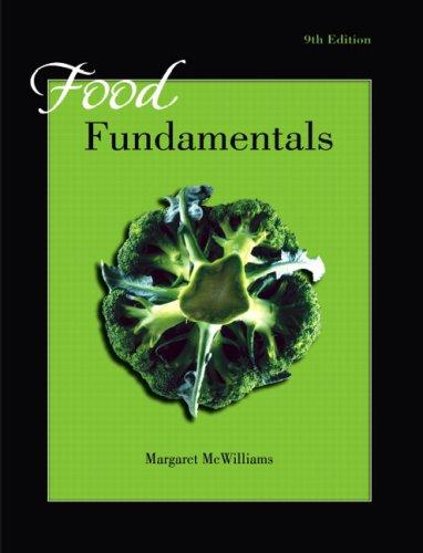 Food Fundamentals 9780132412353