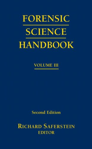 Forensic Science Handbook Volume 3 9780132207157