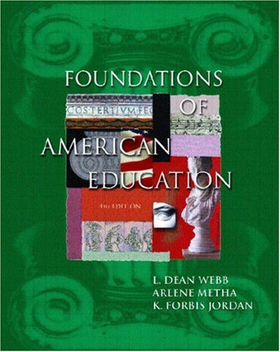 Foundations of American Education 9780130452320