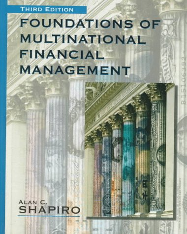 Foundations of Multinational Financial Management 9780137645077
