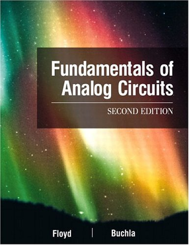 Fundamentals of Analog Circuits 9780130606198