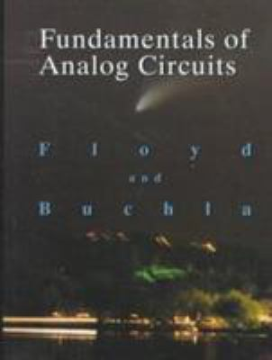 Fundamentals of Analog Circuits 9780138369330