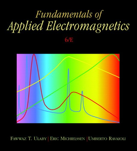 Fundamentals of Applied Electromagnetics [With CDROM] 9780132139311