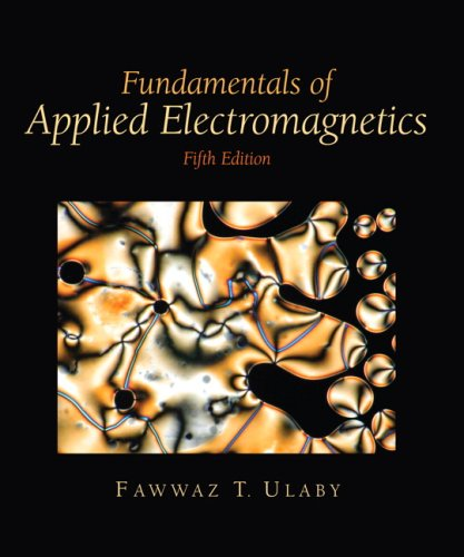 Fundamentals of Applied Electromagnetics [With CDROM] 9780132413268