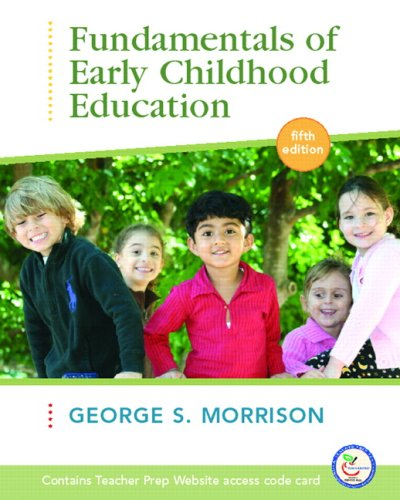 Fundamentals of Early Childhood Education [With Online Access Code] 9780132331296
