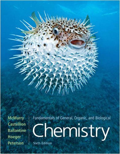 Fundamentals of General, Organic, and Biological Chemistry 9780136054504